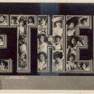 Womans' Name ETHEL Vintage Greeting Postcard VP-3277