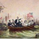 Battle of Lake Erie Vintage Art Postcard VP-4945