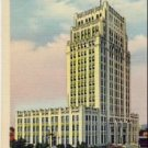 City Hall, Atlanta Georgia Linen Postcard VP-5953