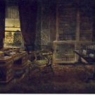 TUCK Oilette Chas. Dickens Study Postcard VP-6642