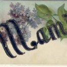 Antique Name Card MAMIE Greeting Postcard VP-3772