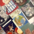 Great Lot of 15 Cute Kitten and Cat Postcards VP-5971