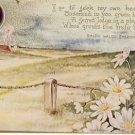 RALPH WALDO EMERSON Vintage Poem Postcard VP-5872