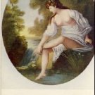 Beautiful Naked Woman Vintage Scenic Postcard VP-2220