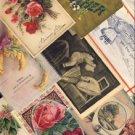 34 Vintage Antique Mixed Greeting Postcards VP-6284