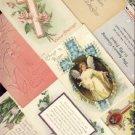 ANTIQUE Lot of 10 Vintage EASTER Postcards VP-5545