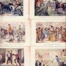 Lovely Lot of 6 MR. JORROCK'S SERIES Postcards VP-5698