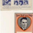 "Lot of 5 ""Your Ideal Mate"" Vintage Postcards VP-2972"