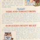 Rawleigh's Cold Remedies Vintage Ad Postcard VP-2722