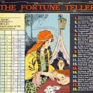 The Fortune Teller Gypsy Woman Postcard VP-6384