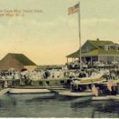 Cape May Yacht Club Cape May, NJ Postcard VP-6153