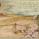 Ralph Waldo Emerson Vintage Poem Postcard VP-6082