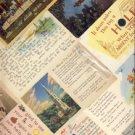 12 Heavenly Vintage Religious Greeting Postcard VP-6275