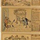 Lot of 5 Randolph Caldecott Character Postcards VP-1135