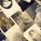 29 Lot of People Real Photo Postcards VP-6658