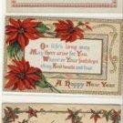 Lot of 5 Arts & Crafts Christmas Poem Postcards VP-6148