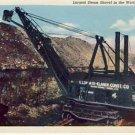Largest Steam Shovel in the World Pittsburgh KS VP-6906