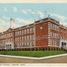 Lincoln High School Canton Ohio Postcard VP-5974