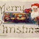 FEMNINE SANTA w/ Toys Christmas Postcard VP-6789