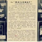 1945 Mailomat Coin operated Letter Box Postcard VP-4635