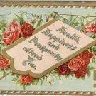 Health, Happiness, Prosperity SWASTIKA Postcard VP-3181