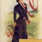Antique Name Card BELLE Vintage Postcard VP-4179