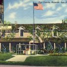 Fort Concho Museum, San Antonio TX Postcard VP-6470