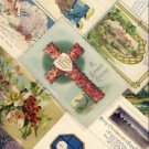 Lot of 16 Vintage Mixed Greetings Postcards VP-1534