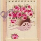 Nice Open Up Book Vintage Greeting Postcard VP-2146