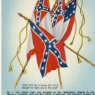Flags of the Confederacy Military Postcard VP-6442
