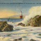Mile Rock Lighthouse San Franciso, CA Postcard VP-6697