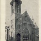 EVENING POST Vintage Souvenir Church Postcard VP-5968