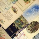Lot of 11 Vintage Birthday Greetings Postcards VP- 4296