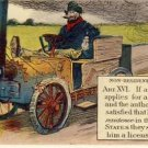 Non-Resident Drivers License Vintage Postcard VP-3650