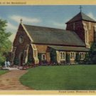 Church Forest Lawn Mem Park Glendale,CA Postcard VP6336