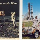 Lot of 7 ASSORTED APOLLO MISSION POSTCARDS VP-5517