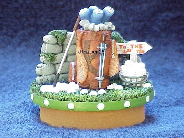 GOLF Jar Candle Topper