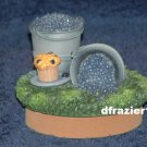 BLUEBERRY Jar Candle Topper Blueberries Muffin