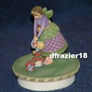 BOTANICAL ANGEL MARY BERRY Jar Candle Topper Debbie Mumm Strawberries