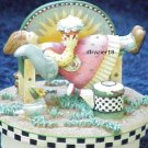 SUNNY DAY ANGEL Jar Candle Topper Debbie Mumm