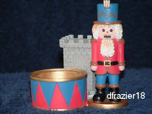 Tealight Tea Light Candle Holder Christmas NUTCRACKER