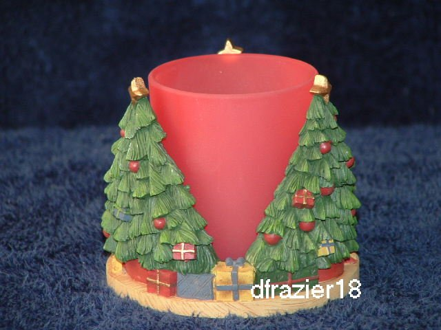 Votive Candle Holder Cuddler CHRISTMAS TREE