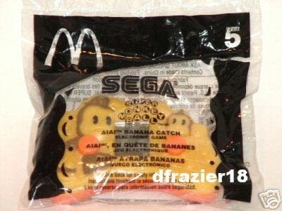 McDonalds McDonald's Happy Meal Toy 2003 #5 SEGA Super Monkey Ball AIAI BANANA CATCH