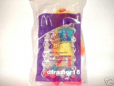 McDonalds McDonald's Happy Meal Toy Doll 2003 #1 BETTY SPAGHETTY