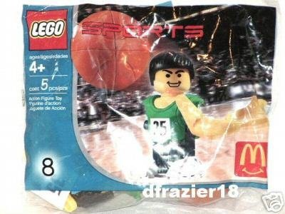 McDonalds McDonald's Happy Meal Toy 2004 Lego Sports Action Figure #8 BASKETBALL
