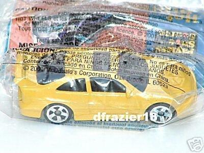 McDonalds McDonald's Happy Meal Toy Hot Wheels Hotwheels Car 2002 #2 HONDA CIVIC