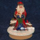OLD WORLD SANTA Jar Candle Topper Claus Father Christmas Papa Pere Noel