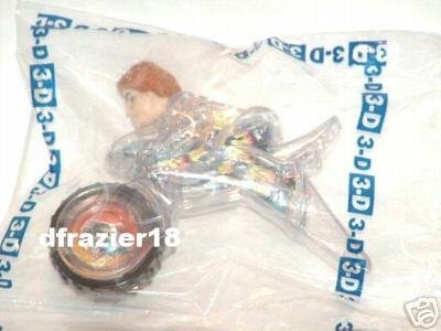 McDonalds McDonald's Happy Meal Toy 2003 #2 Spy Kids 3-D 3D Comic JUNI ON CYCLE