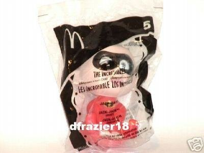 McDonalds McDonald's Happy Meal Toy 2005 #5 Disney Pixar The Incredibles JACK-JACK