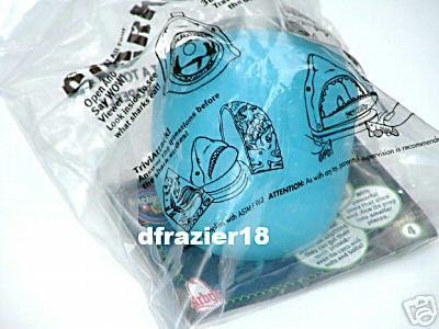 Arby Arbys Arby's Kids Meal Fast Food Toy 2001 SHARK TRIVIA ATTACK